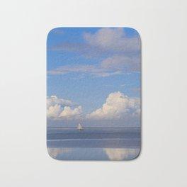 Sea And Sky In Holland Bath Mat