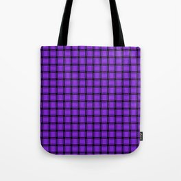 Small Violet Weave Tote Bag