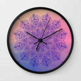 Mild Mandala Wall Clock