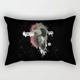 The right Mandalorian for the job! Rectangular Pillow