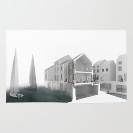 Flood Resilient High Street - Par Docks Rug