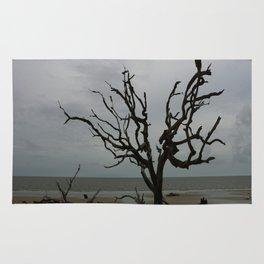 Ghost Tree Beach Rug