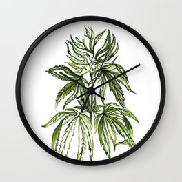 Patent #6630507 Wall Clock
