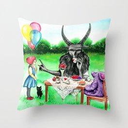 Damnation can wait Throw Pillow