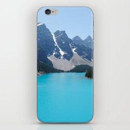 Moraine Lake, Banff Canada iPhone Skin