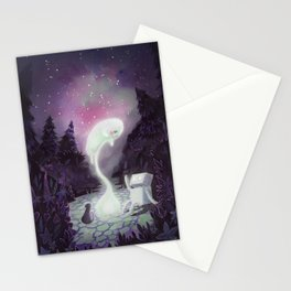 Summoning a Friend Stationery Cards
