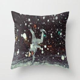BBoy Rebels x Nyc Blizzard 2016 Throw Pillow