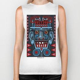 Aztec Smile Biker Tank