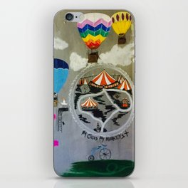 My circus, my monkeys iPhone Skin