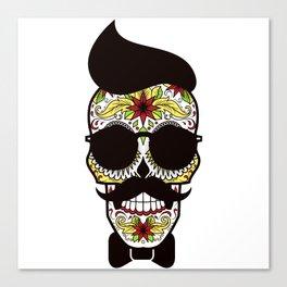 Mr. Sugar Skull Canvas Print