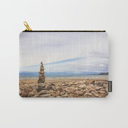 Coastal Cairn- New Zealand Carry-All Pouch