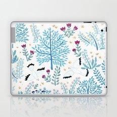 white birds garden Laptop & iPad Skin