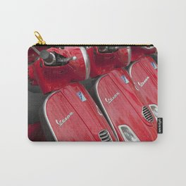 Racey Red Vespa Carry-All Pouch