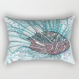 Pez Escorpión Rectangular Pillow