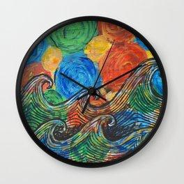 Waves in my Dreams Wall Clock