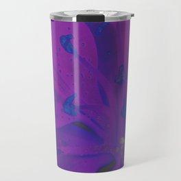 Star Gazer Lilly Up Close Solarized Colors Travel Mug