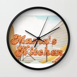 Mamas Kitchen Wall Clock