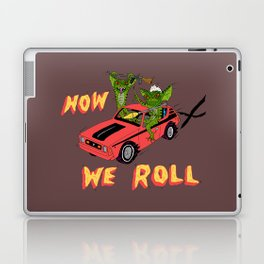 HOW WE ROLL Laptop & iPad Skin