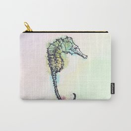 AP100 Watercolor sea horse Carry-All Pouch