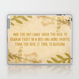 Autumn Anais Nin Quote Laptop & iPad Skin