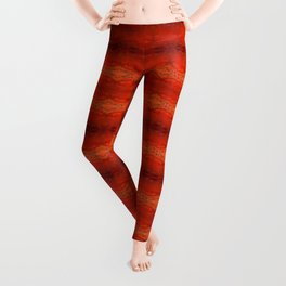 Rustic Orange Geometric Southwestern Pattern - Luxury - Comforter - Bedding - Throw Pillows - Rugs Leggings