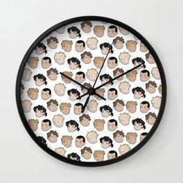 The raven boys Wall Clock