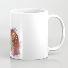 Deer Art Print Coffee Mug