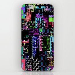 Glitchy iPhone Skin