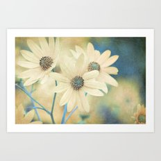 Altered States -- Helianthus Sunflower Autumn Botanical Art Print