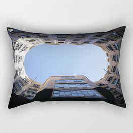 Barcelona Photography - Casa Mila La Pedrera Rectangular Pillow