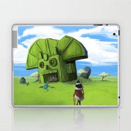 The Wastelands Godhead rest stop Laptop & iPad Skin