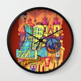 Prague Wall Clock