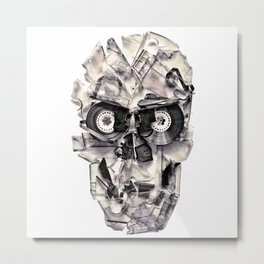 Home Taping Is Dead Metal Print