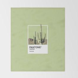 Pantone Series – Cactus Throw Blanket