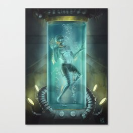 Sapien Canvas Print