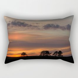 burning sky Rectangular Pillow