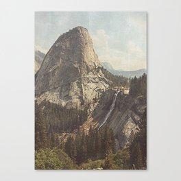 Nevada Falls Yosemite Canvas Print
