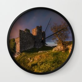 The Norman Fortress Wall Clock
