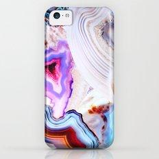 Agate, a vivid Metamorphic rock on Fire Slim Case iPhone 5c