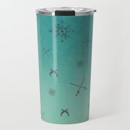 Caribbean Blue Travel Mug