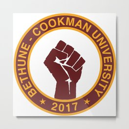 BETHUNE-COOKMAN CLASS OF 2017 Metal Print