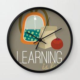 Backpacks & lunch sacks Wall Clock