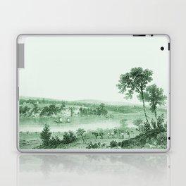 Vintage Lake Champlain  (Green) Laptop & iPad Skin