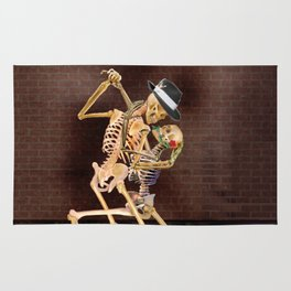 Dancing Skeletons Rug