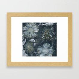 Zombie Daisies Framed Art Print