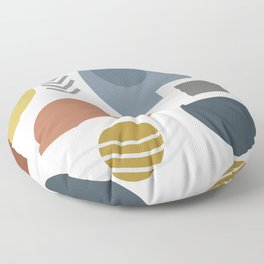 Mid Century Modern Geometric #society6 #decor #buyart #artprint Floor Pillow