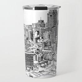 San Antonio skyline Travel Mug