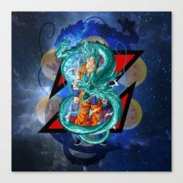 Dragon Ball Super Goku Super Saiyan Blue Canvas Print