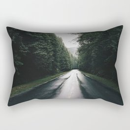 Middle of the road Canada Rectangular Pillow