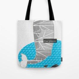 ocean whale Tote Bag